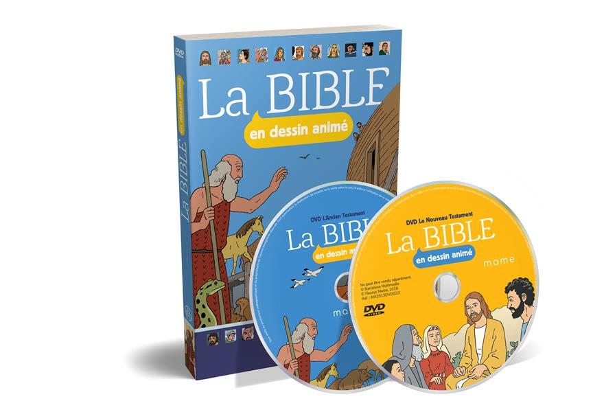 LA BIBLE EN DESSIN ANIME - DVD